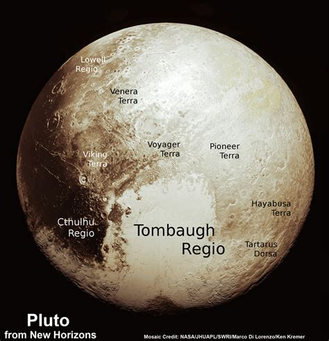 Scientists Assemble Fresh Global Map of Pluto Comprising ...
