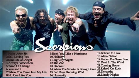 Scorpions Greatest Hits || Best songs Of Scorpions ...