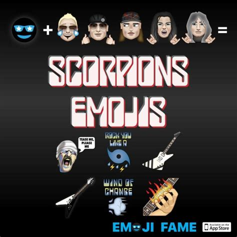 SCORPIONS: Official Emojis Now Available - Hard Rock Radio ...
