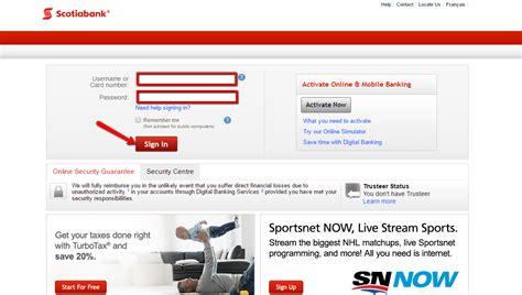 Scotiabank (BNS) Online Banking Login - CC Bank