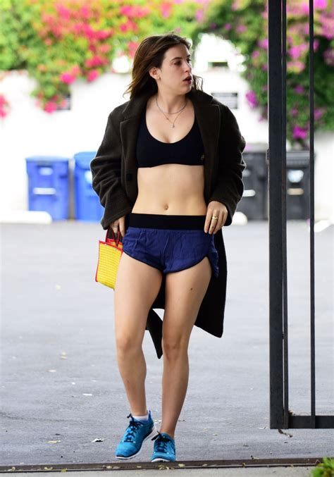 Scout LaRue Willis Stills Leaves a Gym in West Hollywood # ...