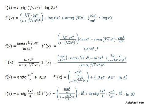 ⏩Derivadas trigonométricas inversas   Derivada del ...