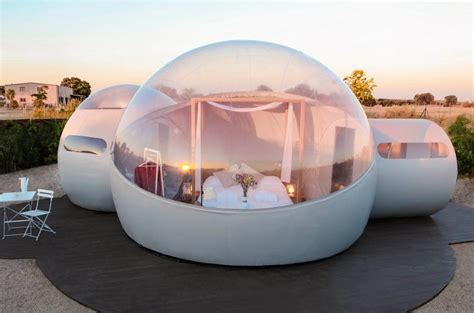 Se abre el primer hotel burbuja a una hora de Madrid ...