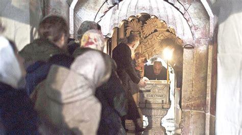 Se abrió la tumba de Jesús…y los ordenadores se apagaron ...