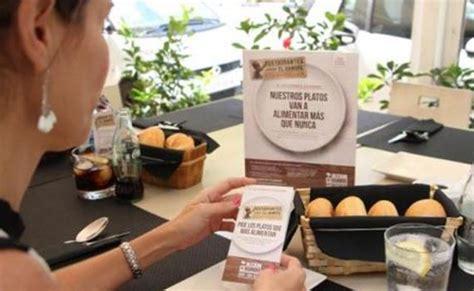 Se buscan restaurantes para luchar contra el hambre en el ...