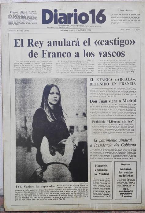 Se cumple el 40 aniversario de Diario 16   Sabemos Digital