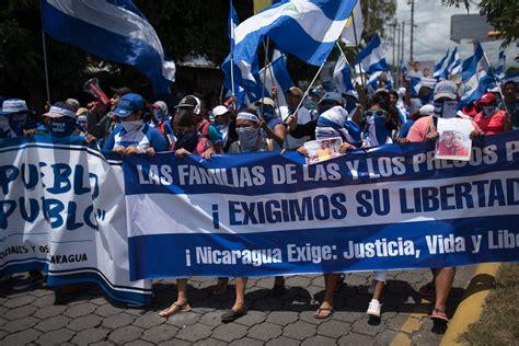 Se eleva a 610 la cifra de presos políticos en Nicaragua ...
