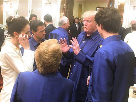 Se encuentran Peña Nieto y Trump en la APEC