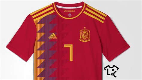 Se filtra la posible camiseta de España para el Mundial ...