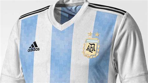 Se filtró la supuesta camiseta de la Selección argentina ...