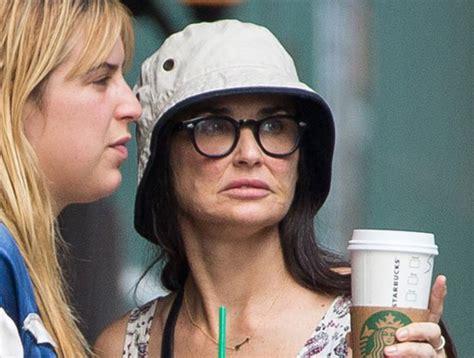 Se le derritio la cara a Demi Moore - Noticias - Taringa!