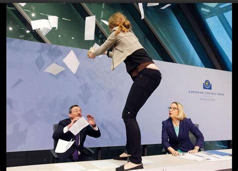 Se lleva susto el presidente del Banco Central Europeo