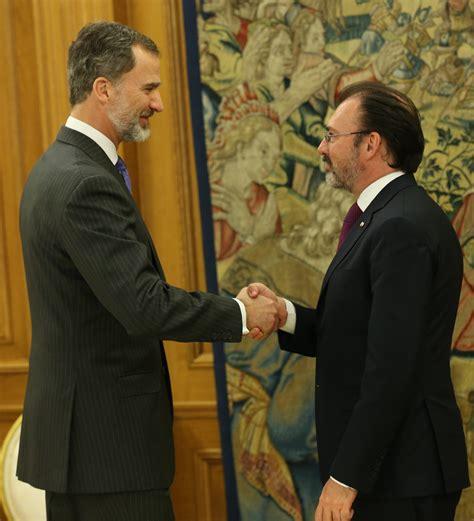 Se reúne el Secretario Luis Videgaray con el Rey Felipe VI ...