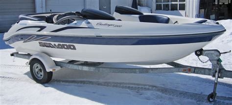 Sea Doo Challenger 2000 2001 for sale for $10 - Boats-from ...