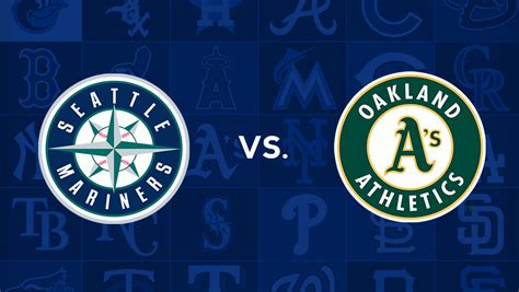 Seattle Mariners vs Oakland Athletics Live Streaming MLB ...