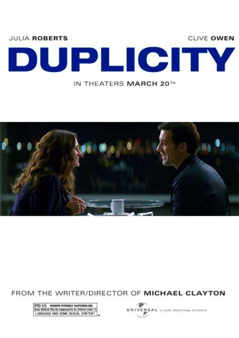Sección visual de Duplicity   FilmAffinity