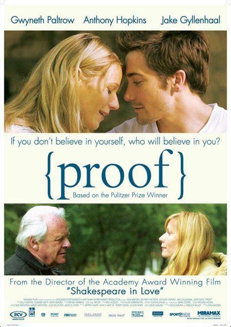 Sección visual de Proof  La verdad oculta    FilmAffinity