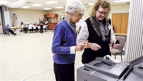 Secretary of state wants to replace aging voting machines ...