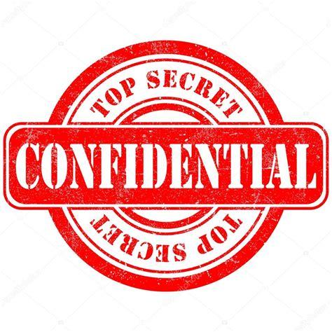 secreto confidencial sello — Archivo Imágenes Vectoriales ...