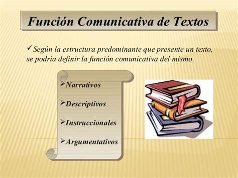 Secuencias Discursivas de los textos y su función comunicativa