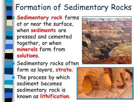 Sedimentary Rocks.   ppt download