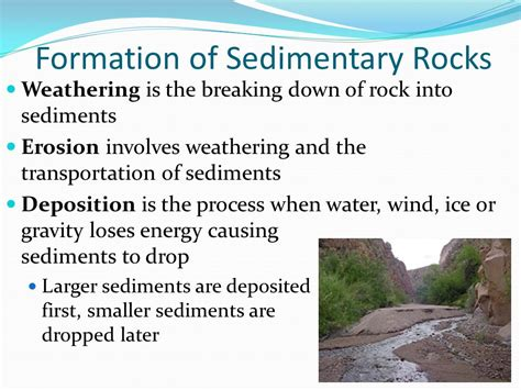 Sedimentary Rocks Section ppt download