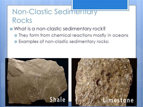 Sedimentary Rocks What is the difference between clastic ...