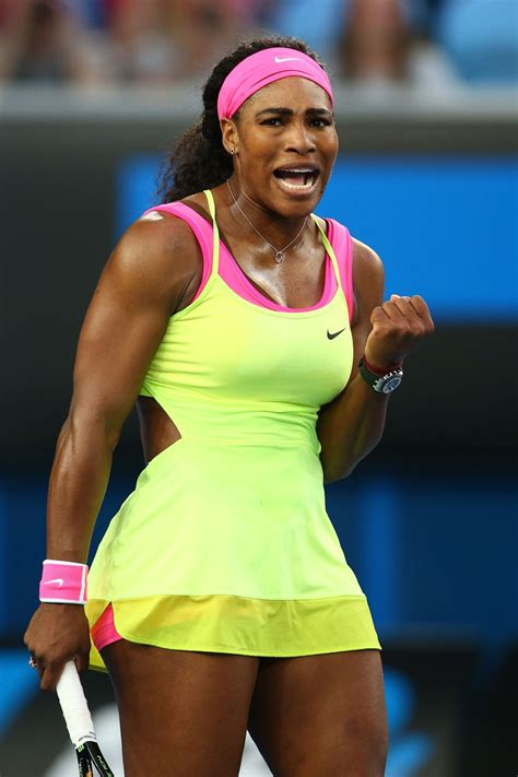 See Serena Williams  provocative backless Australian Open ...