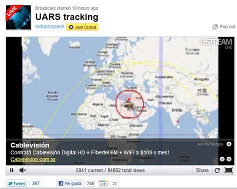 Seguimiento del satélite UARS en tiempo real | Aprendesfera