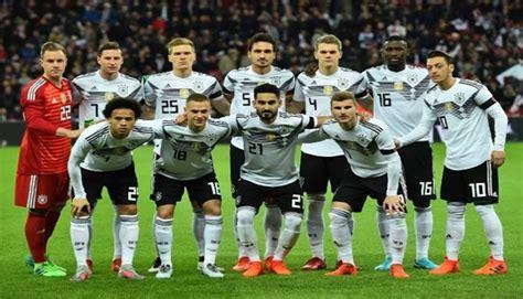 Selección alemana EN VIVO conoce la lista preliminar de ...