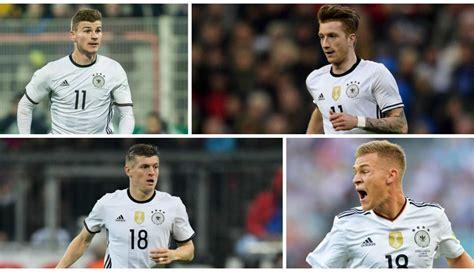 Selección alemana: los 50 futbolistas convocables para el ...