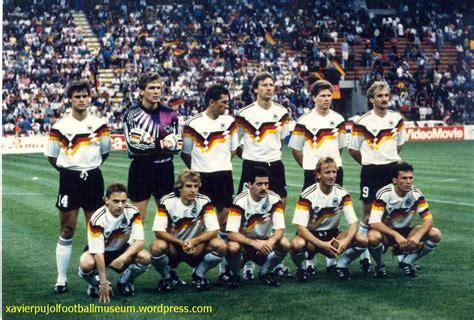 Selección Alemana Mundial Italia 90 | Italia 90 ...