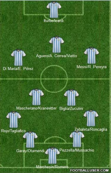 Selección Argentina 2015-2016 Nueva Formacion - Deportes ...