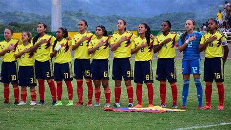 Selección Colombia Femenina Sub-20 Horario cuadrangular final