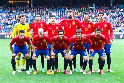 Selección de ESPAÑA DE LA TEMPORADA 2014-15 A LA 2017-18 ...