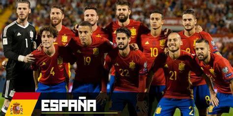 Selección de España en Rusia 2018: la mezcla perfecta ...