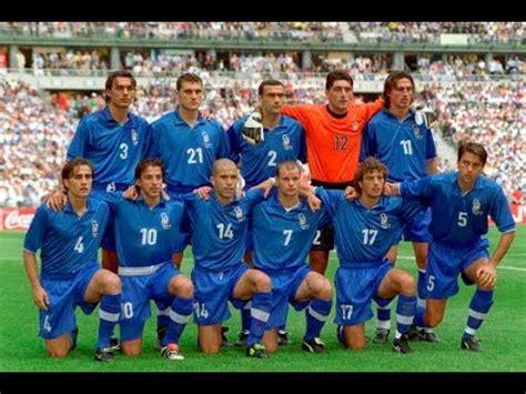SELECCIÓN ITALIA 1998 - YouTube