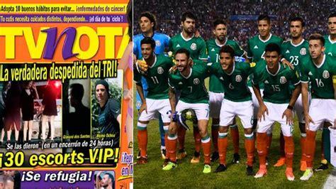 Selección mexicana: Captan a ocho jugadores en fiesta con ...