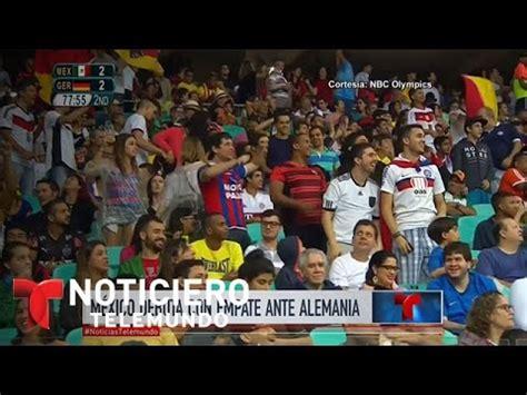 Selección mexicana de fútbol  m  empata ante Alemania ...