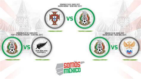 Selección Mexicana: El calendario de partidos de México en ...
