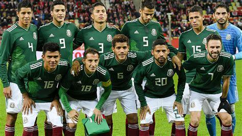 Selección Mexicana: Elige la alineación de México para el ...