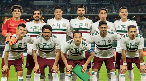 Selección Mexicana: La selección mexicana jugará su último ...