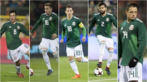 Selección Mexicana: Los cinco mejores jugadores del Tri en ...