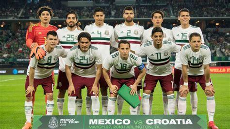 Selección Mexicana: México asciende al puesto 15 del ...