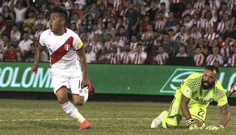 Selección Peruana enfrentará a Paraguay en partido ...