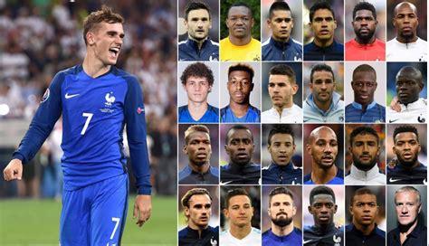 Selección peruana: Los 23 jugadores de Francia que valen ...