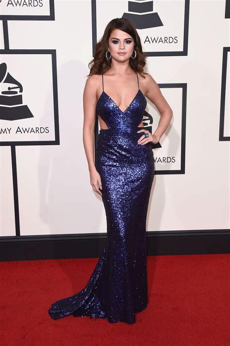 Selena Gomez   2016 Grammy Awards in Los Angeles, CA