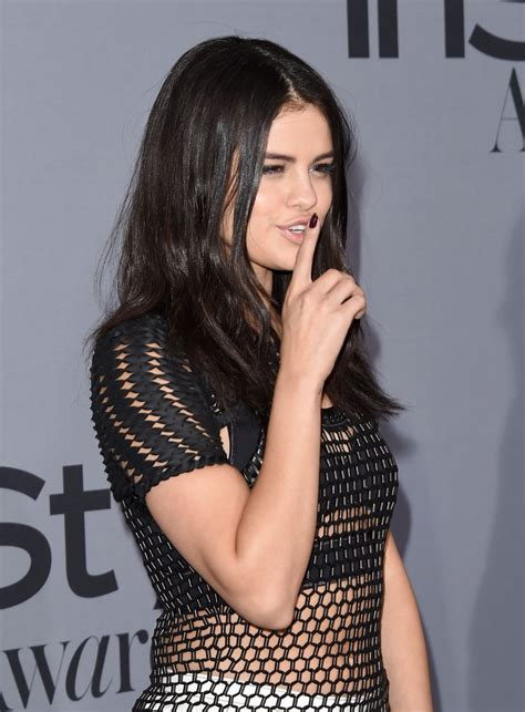 SELENA GOMEZ at InStyle Awards 2015 in Los Angeles 10/26 ...