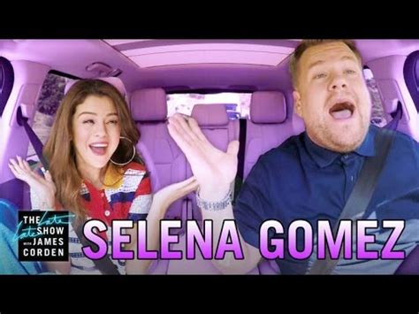 Selena Gomez Carpool Karaoke   YouTube