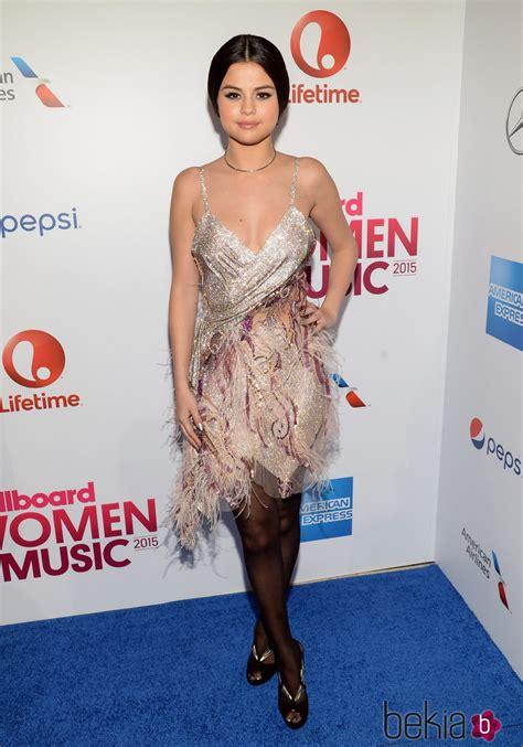 Selena Gomez en los premios Billboard Women in Music 2015 ...